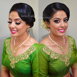 Beautiful Jaina 😍 loved getting her ready, feeling really blessed this wedding season to have so ma