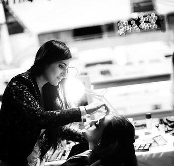 Sana Majeed bridal har and makeup artis in London. Asian, Indian, Bengali Pakisatni artist.