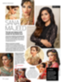 Sana Majeed Asian Bridal hair and makeup artist reveals her top beauty secrets