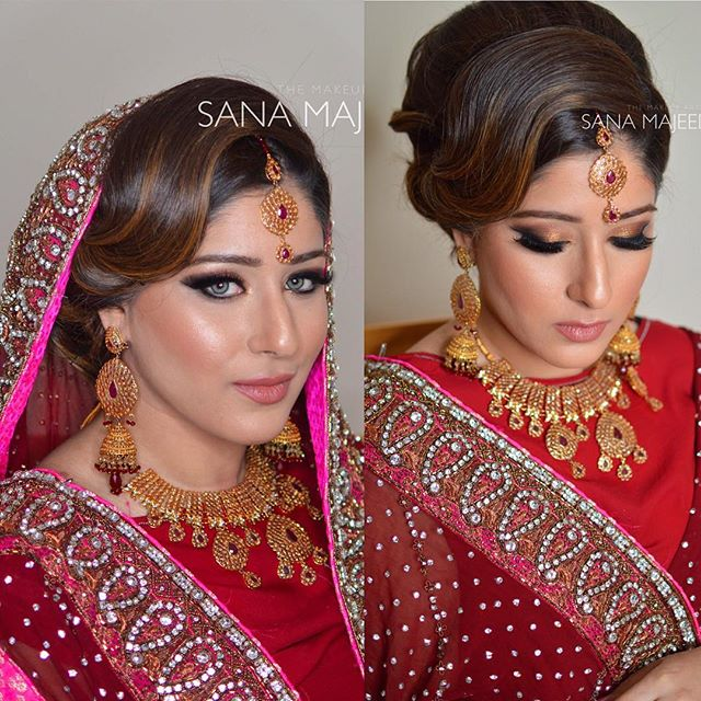 Too many beautiful pics of Mehek to choose from 😘 #makeup #MUA #makeupartist #londonmakeupartist #a