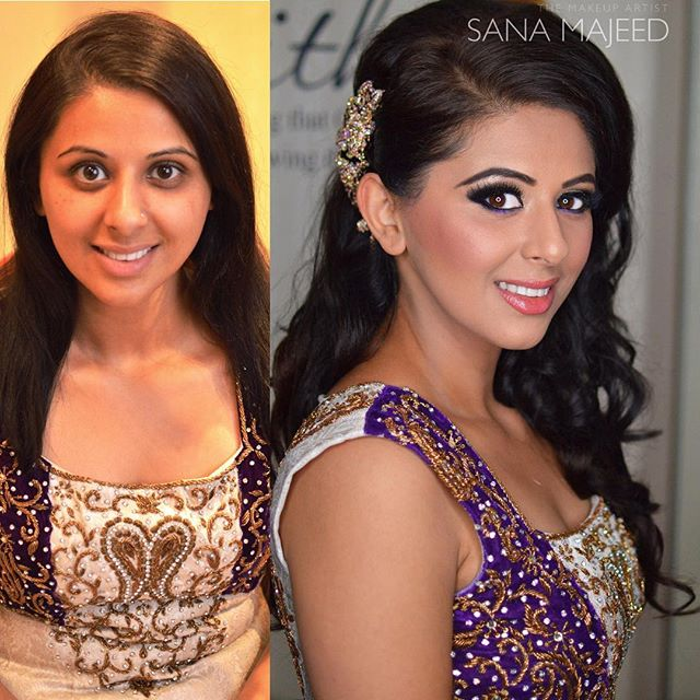 Beautiful Parmdip #beforeandafter for her #engagement