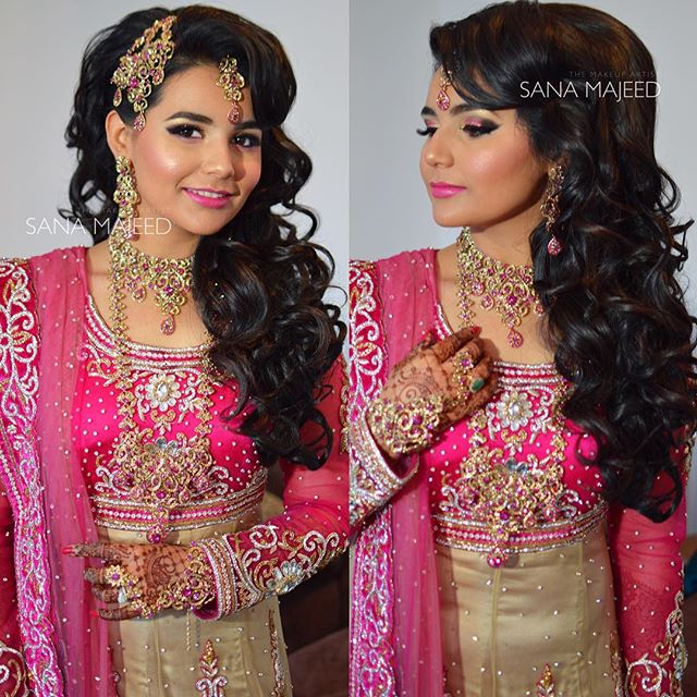 Was my absolute pleasure getting Nadia ready for her Walima. The most bubbly, happy bride ive EVER m