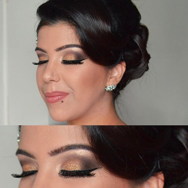 Soft glam on beautiful Jasmine
