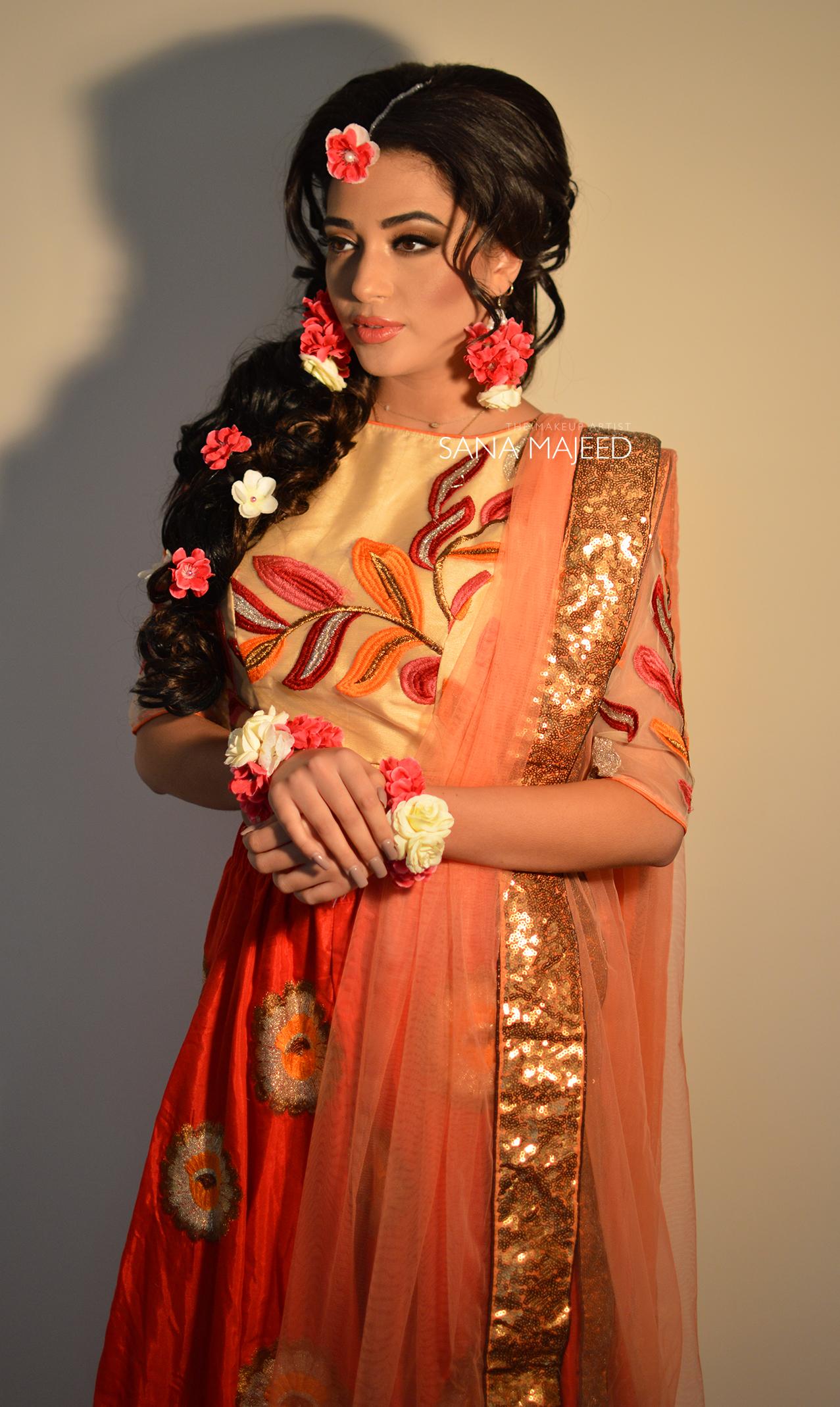 Mhendi Bride
