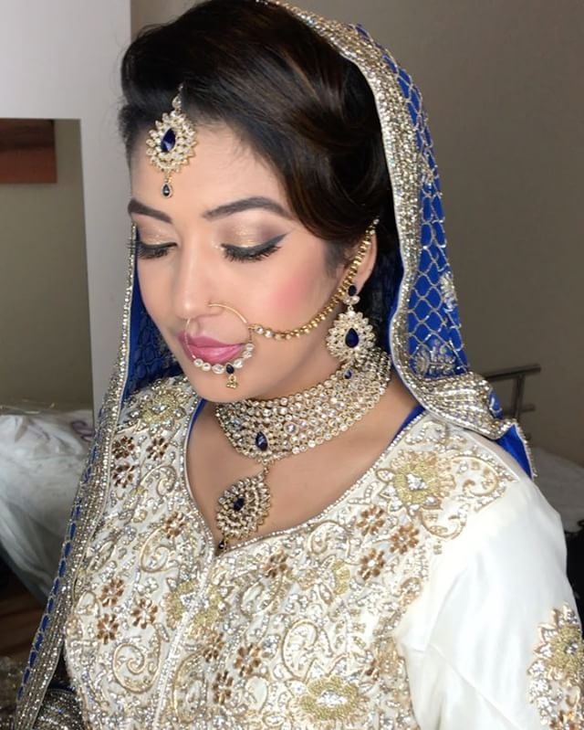My beautiful bride from yesterday _) #asianbride #asianbridalmakeupartist #mua #mualondon #indianbri