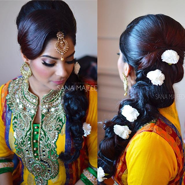 My beautiful mhendi bride from yesterday _) #makeup #muamualondon _hudabeauty _hudalashes #mac #ingl