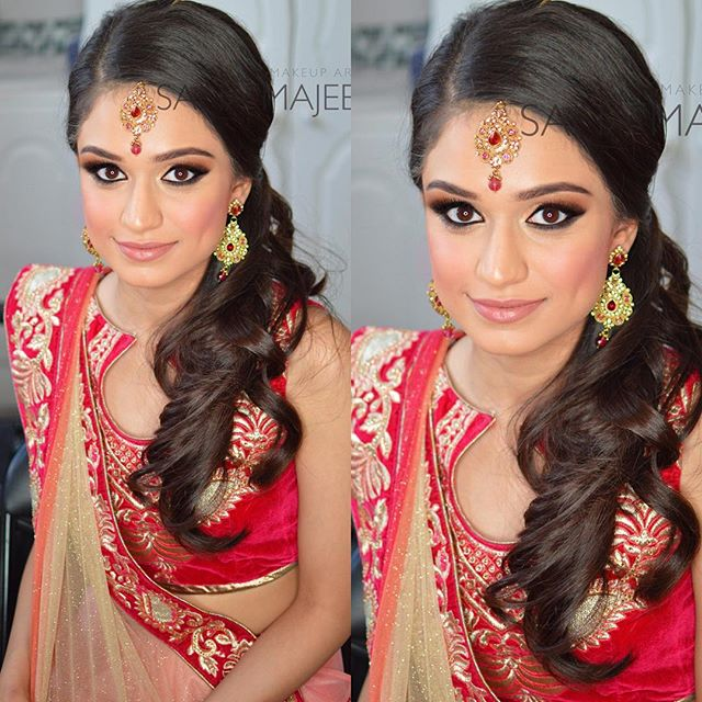 What a gorgeous girl! 😘 #MUA #makeup #makeupartist #mualondon #makeupartistlondon #asianbride #brid