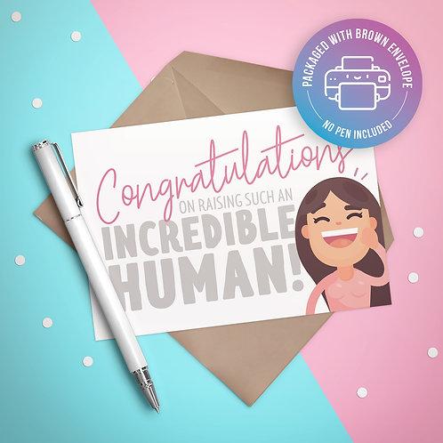 Creating an Incredible Human Card