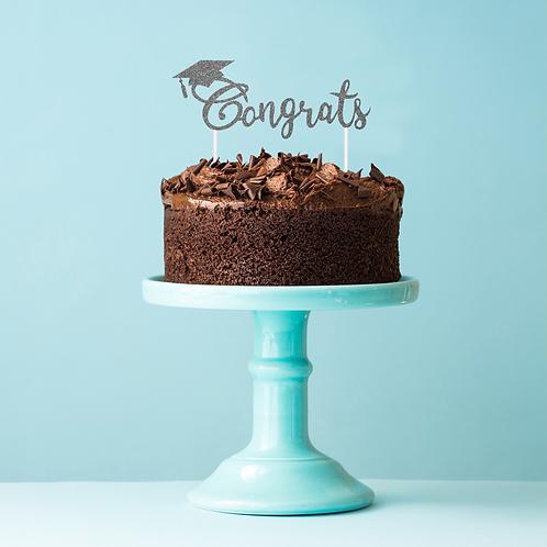 Graduation Congrats Cake Topper