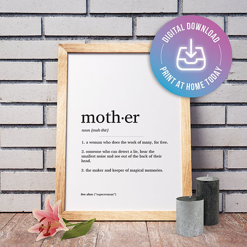 Mother Definition