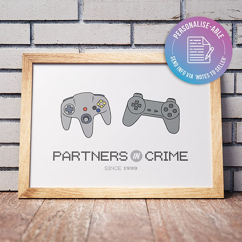 Partners in Crime [PERSONALISED]