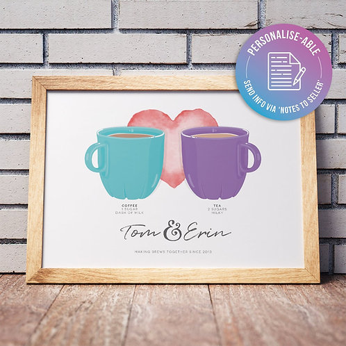 Couple Brew Together [PERSONALISED]