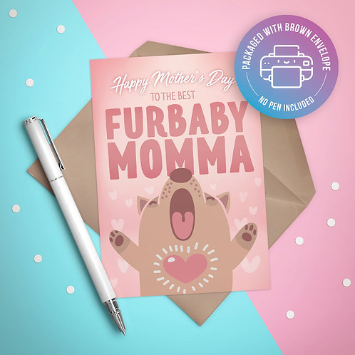 Mother's Day from the Furbaby Card