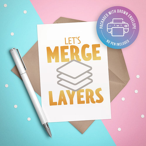 Let's Merge Layers Card
