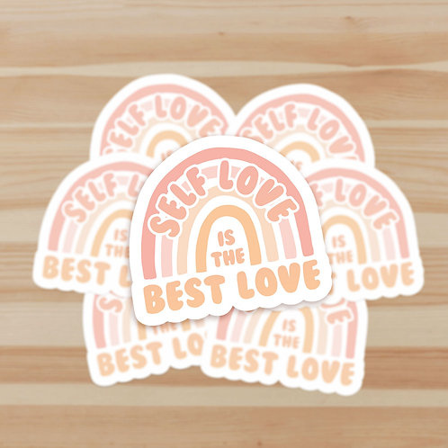 Self Love is the Best Love Stickers