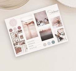 Paper Card Stationery Design or Small Art Print Mockup for Instagram or Facebook Post (3)_