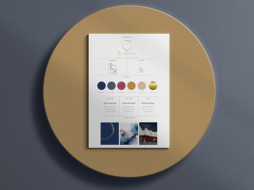 Brand identity + Grafische vormgeving