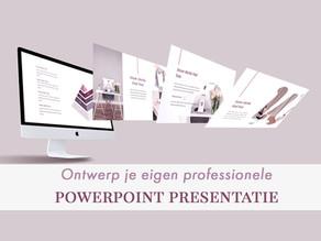 Ontwerp een professionele Powerpoint presentatie voor je Webinar