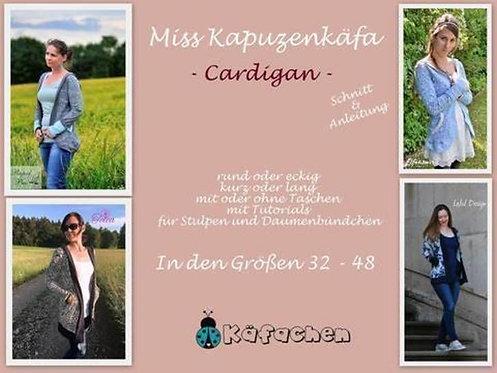 Miss Kapuzenkäfa Cardigan