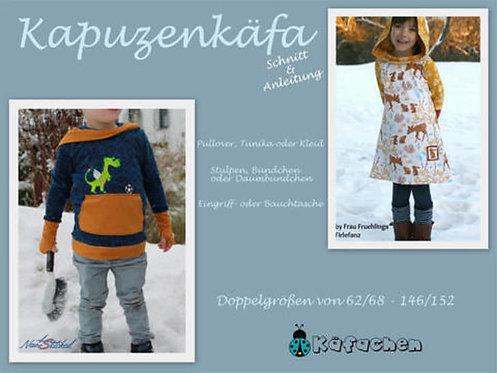 Kapuzenkäfa 62/68 - 146/152