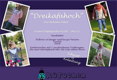 Dreikäfahoch- Mädchen 62/68-146/152