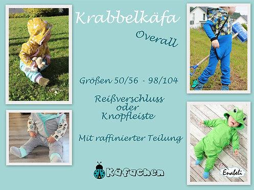 Krabbelkäfa- Overall 50/56 - 98/104