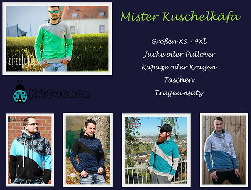 Mister Kuschelkäfa  XS-4XL