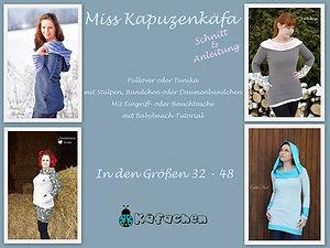 Miss Kapuzenkäfa 32-48