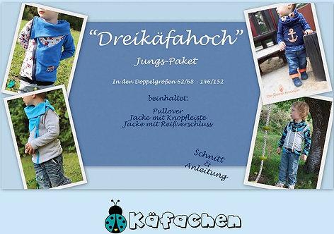 Dreikäfahoch - Jungs 62/68-146/152