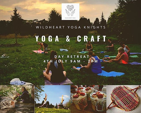 OUTDOOR CRAFT AND YOGA RETREAT