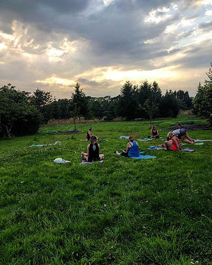 OUTDOOR YOGA RETREAT