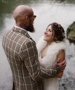 Simon & Katie Cornish Tipi wedding