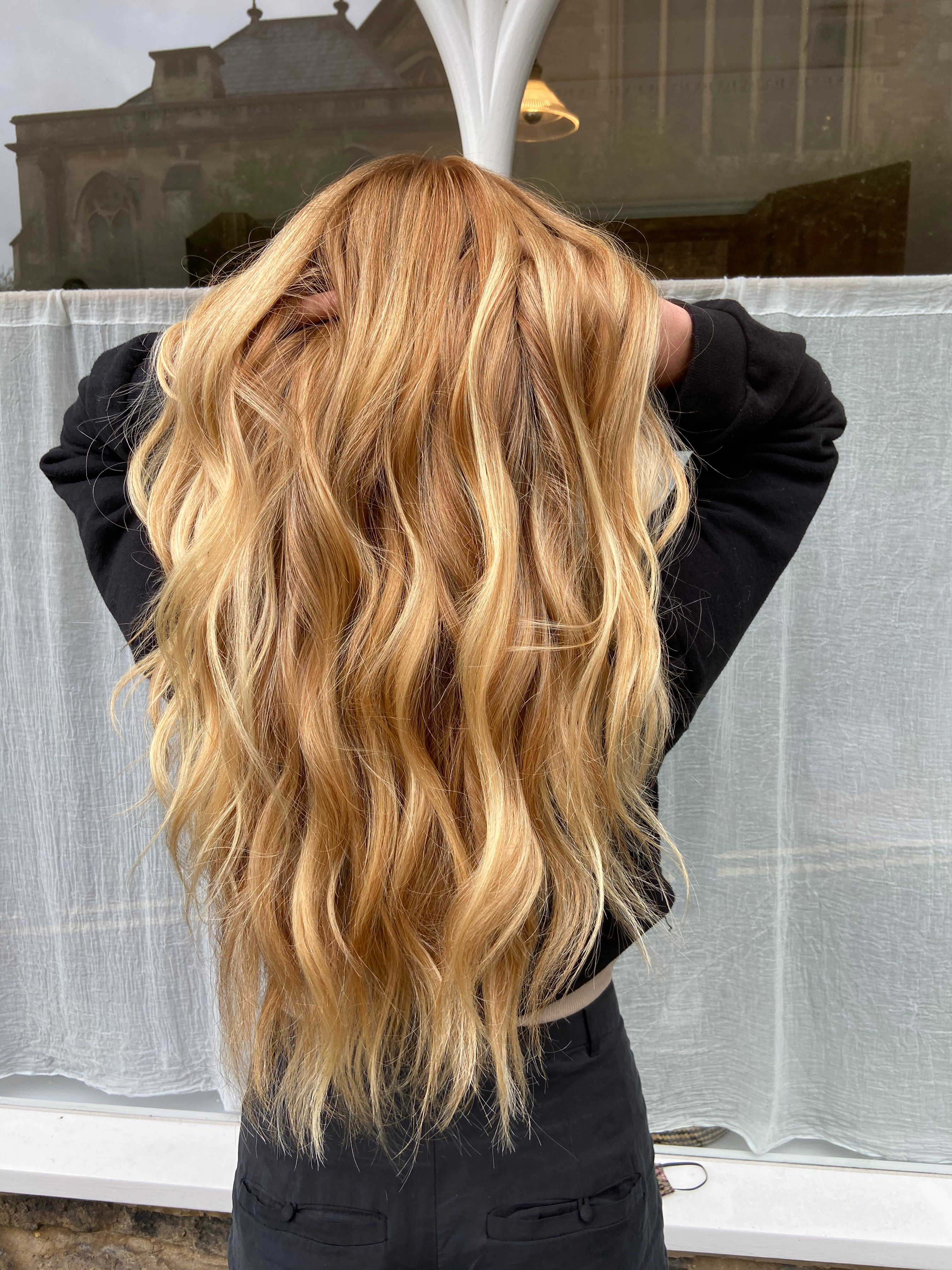 The California - with blowdry & styling