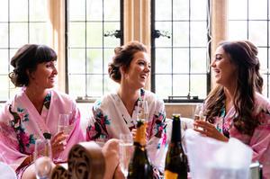Jo & her bridesmaids