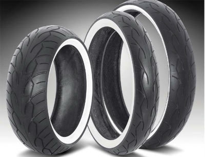 Vee Rubber White Wall 120/50-26