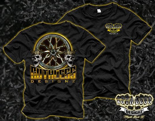 Ruthless Yellow Skull T-Shirt