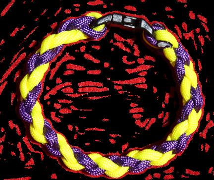 550 Band - Purple Yellow