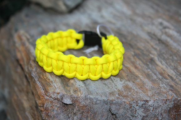 Yellow Survival Band - Buckle
