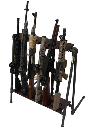 Portable Weapons Rack by Repunga