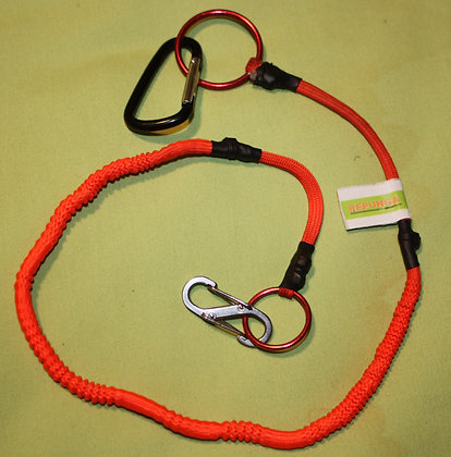 Neon Orange Pistol Leash