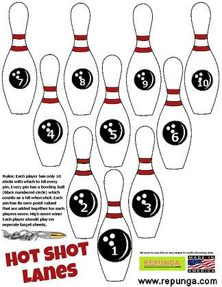 Hot Shot Bowling 6 Pack