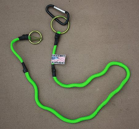 Neon Green Pistol Leash