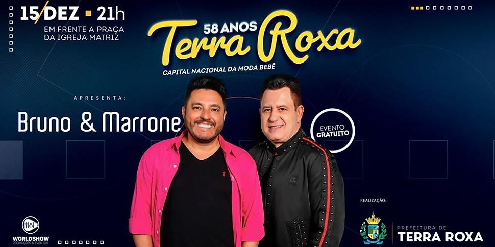 SHOW BRUNO E MARRONE - TERRA ROXA-PR