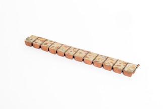 Mokume Gane Hinged Bracelet