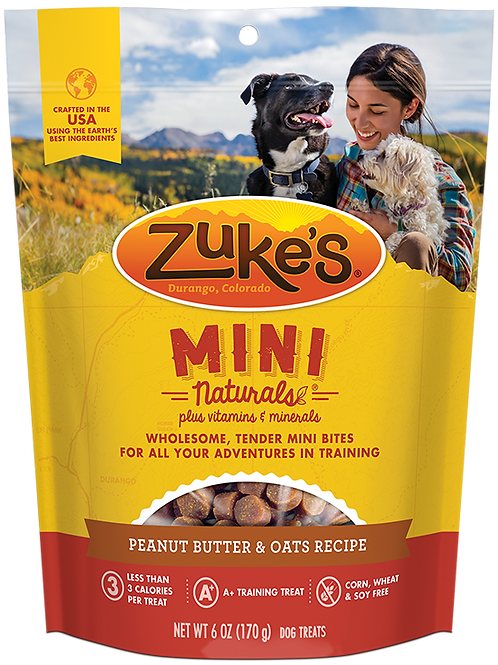 Zuke's Peanut Butter Minis