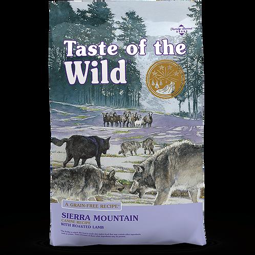 Taste of the Wild Sierra Mountain 28lbs