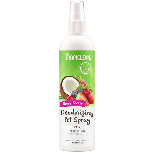 Tropiclean Berry Breeze Spray  8oz