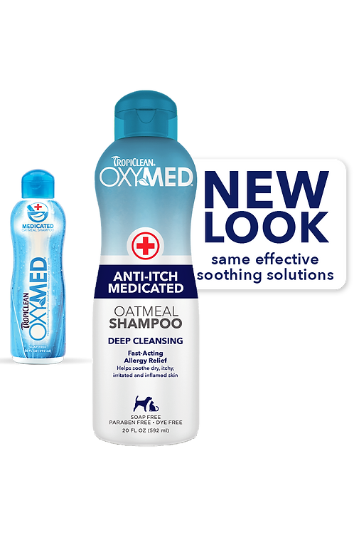 Tropiclean Oxymed Anti-Itch Shampoo 20oz