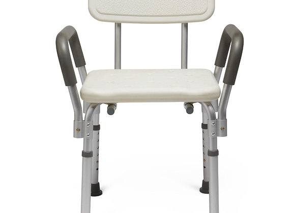 Knockdown Bath Bench With Arms And Back Each