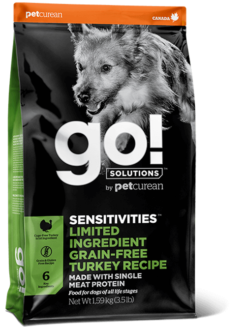 Petcurean GO! Turkey 3.5lbs